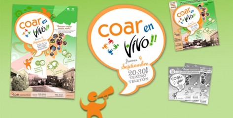 Estrategia Comunicacional COAR en Vivo 2008